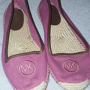 Raspberry pink MICHAEL KORS shoes.